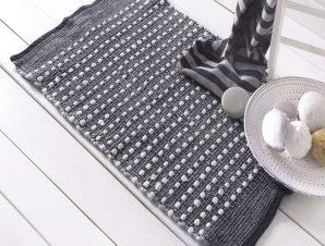 Ταπέτο Μπάνιου Roxy Grey Ρυθμός Large 60x120cm