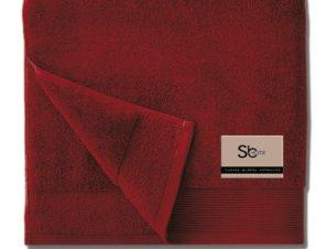 Πετσέτα Elegante Bordo Sb Home Προσώπου 50x100cm