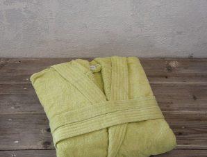 Μπουρνούζι Zen Με Κουκούλα Green Nima X-Large