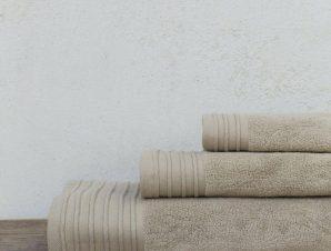 Πετσέτα Feel Fresh Beige Nima Σώματος 90x145cm