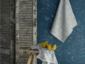 Πετσέτα Iris Gray Nima Προσώπου 50x90cm