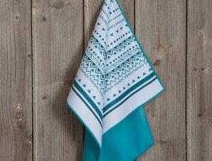 Πετσέτα Κουζίνας Meara White-Blue Nima 40x60cm