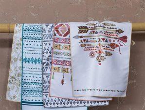 Πετσέτες Κουζίνας Avery Σετ 10τμχ Multi Nima 40x60cm