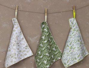 Πετσέτες Κουζίνας Idira Σετ 3τμχ Multi Nima 40x60cm