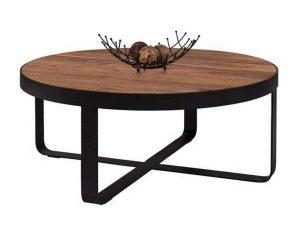 Τραπέζι Σαλονιoύ HM8461 Φυσικό Φ100×35.5cm