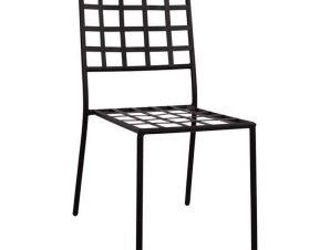 Μεταλλική Καρέκλα 46x58x88 HM5509 Black
