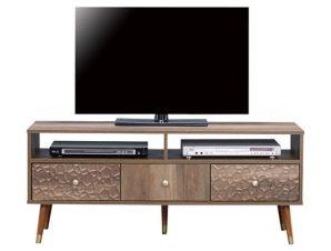 Έπιπλο Τηλεόρασης Shanice HM8659 Wallnut 120X39X50Υ εκ.