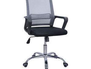 Καρέκλα Γραφείου HM1148.10 Black Grey 60x57x104Υ εκ.