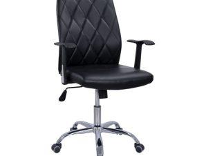 Καρέκλα Γραφείου HM1153.01 Black 61x59x98-108Y εκ.
