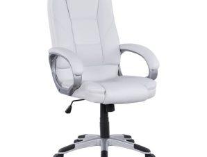 Καρέκλα Γραφείου Διευθυντική HM1091.02 White 64x71x118 εκ.