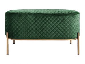 Σκαμπό Irina HM8637.03 Dark Green 82x42x38Υ εκ.