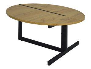 Τραπέζι Σαλονιού Natural HM8535.01 Φ80×43Υεκ.