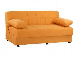Καναπές-Κρεβάτι Τριθέσιος EGE 1215 HM3067.08 192X74X82cm Gold