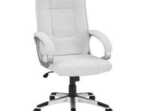 Καρέκλα Γραφείου Διευθυντική HM1092.02 63x66x116cm White