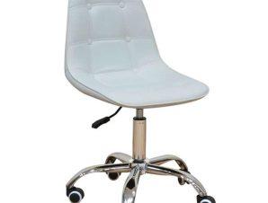 Καρέκλα Γραφείου BS1330 01.0106 48X56X81cm White