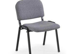 Καρέκλα Υποδοχής Milos 01.0201 53Χ57Χ46/78,5cm Grey