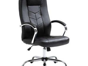 Πολυθρόνα Γραφείου A3250 01.0140 62Χ72Χ115-123cm Black