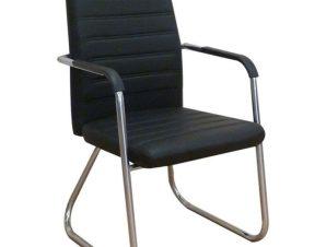 Πολυθρόνα Υποδοχής Calvin 01.0003 53Χ59Χ93cm Black