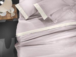 Σεντόνια Silky Σετ 4τμχ Melanze-Ivory 270χ280 Guy Laroche King Size 270x280cm