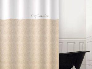Κουρτίνα Μπάνιου Finesse Golden Guy Laroche Φάρδος 180cm