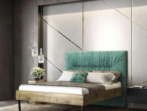 Κρεβάτι Νο.103C Jardin 160×200 Oak Διπλό