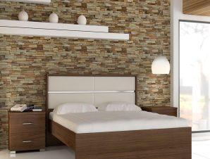 Κρεβάτι Νο.Γ50 Όνειρο 150×200 Wenge Διπλό