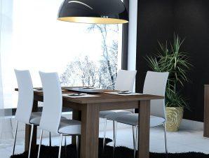 Τραπέζι Ανοιγόμενο Νο. 81 Fay 160×90 Wallnut