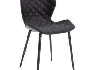 Καρέκλα Μίρκα Black(Σ2) 48X51X85εκ. 11.1574