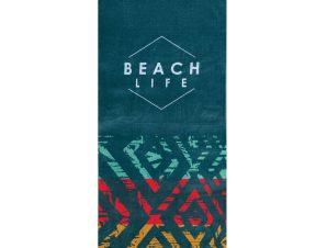 Πετσέτα Θαλάσσης Beach Life Multi Nef-Nef Θαλάσσης 80x160cm