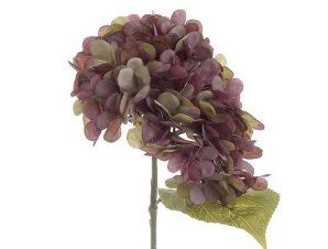 Διακοσμητικό Λουλούδι-Μπουκέτο 3-85-084-0050 Υ35 Purple Inart Ύφασμα