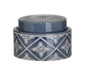 Βάζο Κεραμικό 3-70-078-0029 13Χ10 Blue-White Inart Κεραμικό
