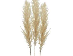 Κλαδί-Φυτό 3-85-909-0018 Σετ 3τμχ Υ150 Ecru Inart Πλαστικό