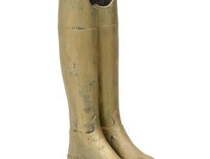 Ομπρελοθήκη 3-70-146-0238 Μπότες 20X25X58 Antique Gold Inart Polyresin