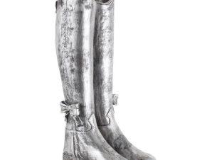 Ομπρελοθήκη 3-70-146-0104 Μπότες 20X25X58 Silver Inart Polyresin