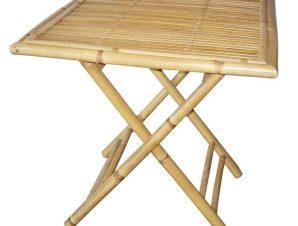 Τραπέζι Πτυσσόμενο 3-50-236-0027 70Χ70Χ75cm Natural Inart