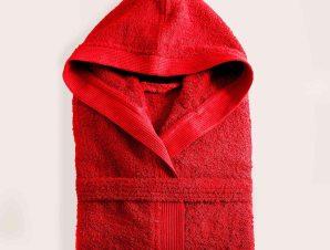 Μπουρνούζι Amadeus Red Ρυθμός Large L