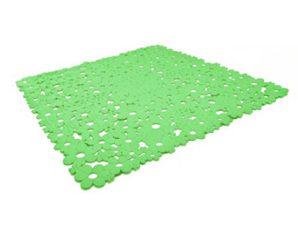 Πατάκι Αντιολισθητικό Fiore 00088.011 Green 55X55 54x54cm