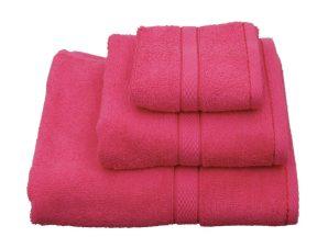 Πετσέτα Classic Φούξια Viopros Σώματος 80x160cm