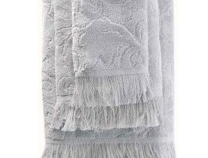 Πετσέτα Sienna Light Grey Ρυθμός Σώματος 70x140cm