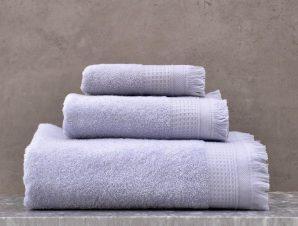 Πετσέτες Tanny Σετ 3τμχ Σε Κουτί Blue Ρυθμός Σετ Πετσέτες