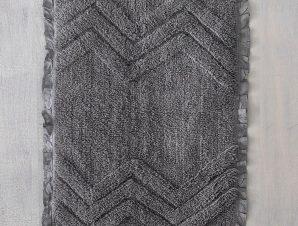 Ταπέτο Μπάνιου Darius Grey Ρυθμός Large