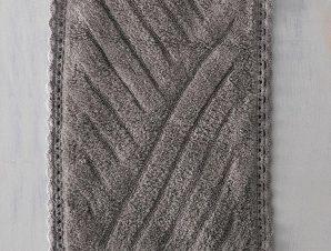 Ταπέτο Μπάνιου Emperor Grey Ρυθμός Large