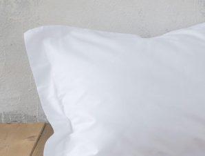 Σεντόνι Με Λάστιχο Superior White Nima Υπέρδιπλo 160x200cm