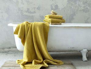 Πετσέτα Feel Fresh – Mustard Beige Nima Προσώπου 50x100cm