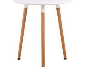 Τραπέζι Art Ε7089,1 D. 60 H.70cm White