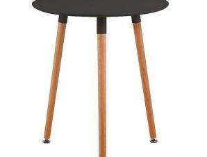Τραπέζι Art Ε7089,2 D. 60 H.70cm Black