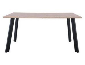Τραπέζι Baxter ΕΜ828 160x90x75cm Black Sonoma