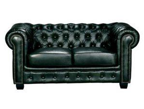 Καναπές Διθέσιος Chesterfield 689 Ε9574,23 160x92x72cm Antique Green
