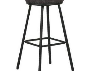 Σκαμπό Bar Filby ΕΜ778,3 40x40x74cm Black