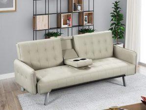 Καναπές – Κρεβάτι Wells Ε9681,3 188x82x80cm/168x100x36cm Beige